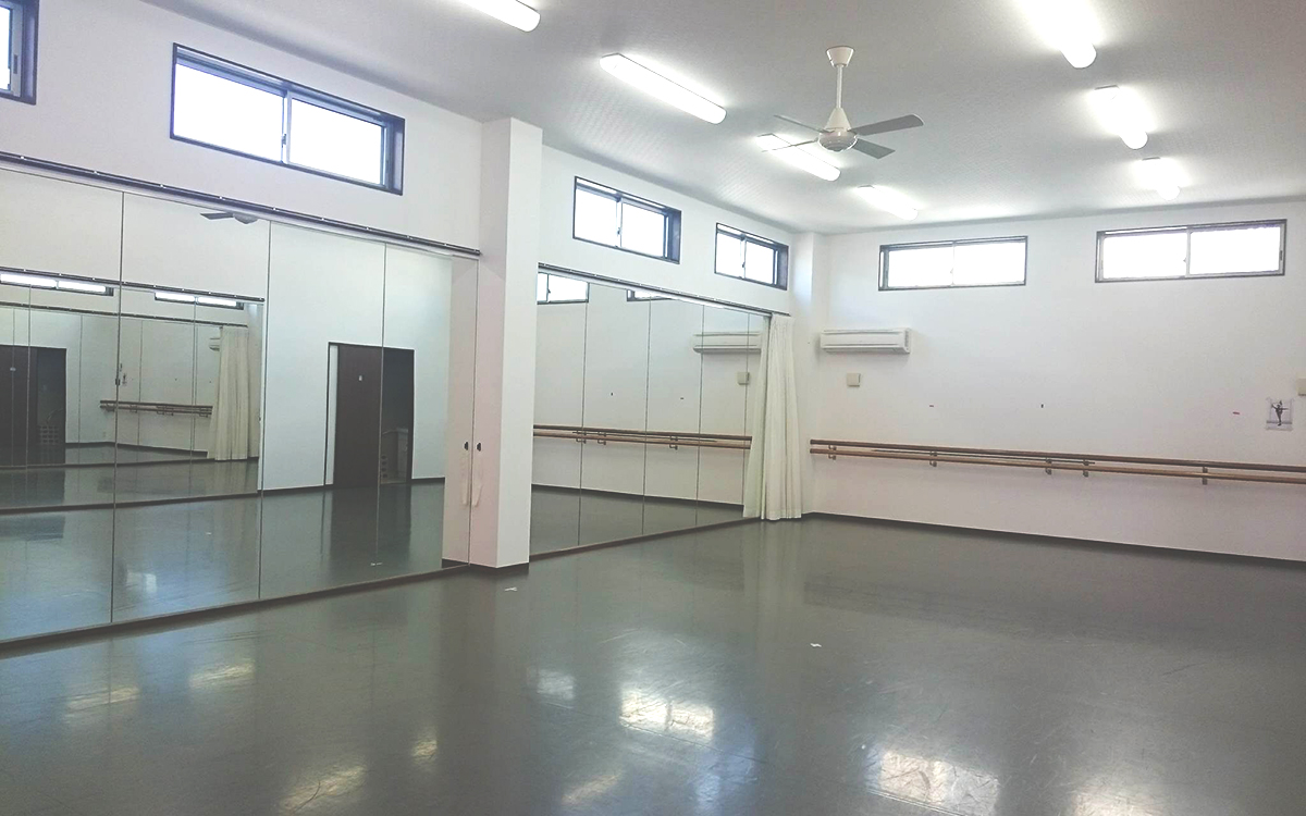 b星野聡子モダンバレエスタジオ フロアレンタル