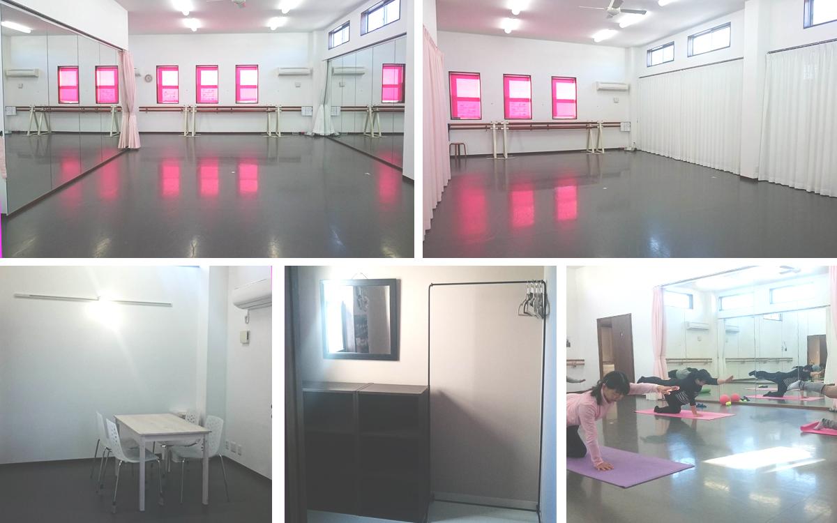 星野聡子モダンバレエスタジオ フロアレンタル